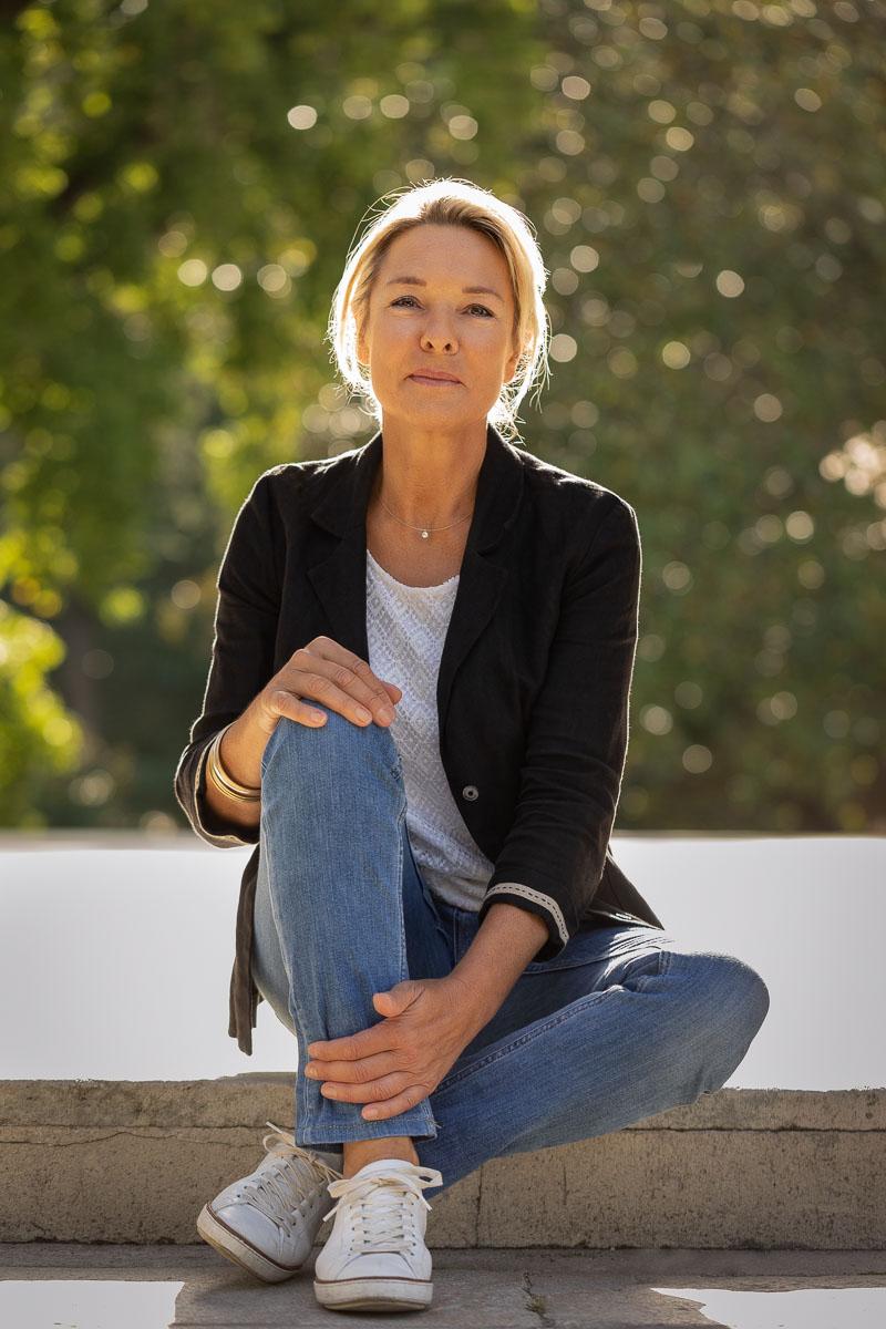 Portrait de Corinne Tonelli exerçant en tant que naturopathe à Bordeaux